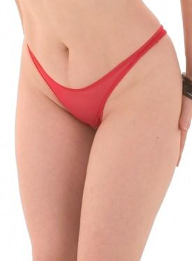 P1M Mesh crotchless thong panty