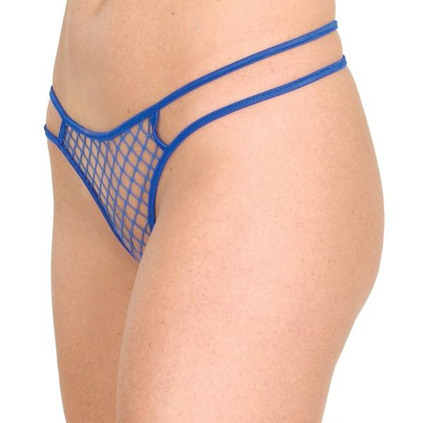 N-P1 Net two string thong panty