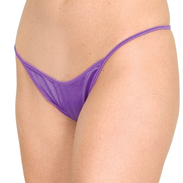 P19 Spandex string side thong panty