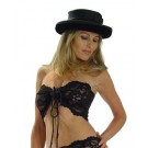 01-T4 Bando Lace tie front tube top