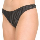 S-P1 Stretch Satin thong panty