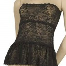 FL-D58 Lace dress with3 layers and  ruffle on bottom.