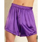 S-MB5-Stretch Satin lounging shorts